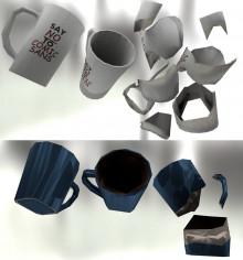 2 Cheap Gibable Mugs