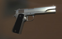 Colt 1911A1 Textures