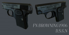 FN Browning 1906 Textured