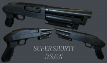 Super Shorty Textured