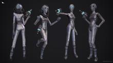 Chiary - Female Alien Character