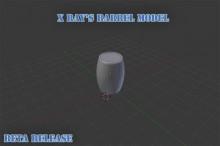 Barrel Model [Untextured / Demo Release]
