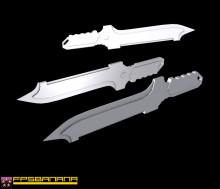 Metal Gear Stun Knife