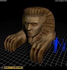 Mini Sphinx Replica