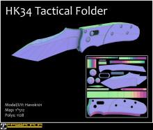 HK34 Tactical Folder