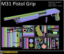 M31 Pistol Grip