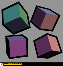 64x64 Cell Shaded Crate