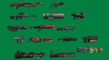 C&C Renegade Guns in SMD +Original Anims