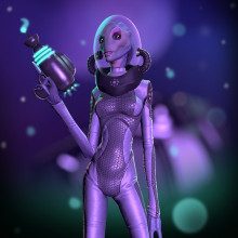 Chiary - Female Alien Character