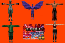 Tekken Tag  Tournament  HD : all character models