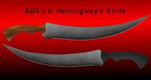 BDS´s & Hemingway´s Knife