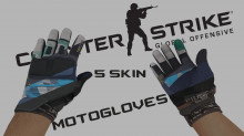 CSGO: motogloves