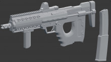 Fictional SMG