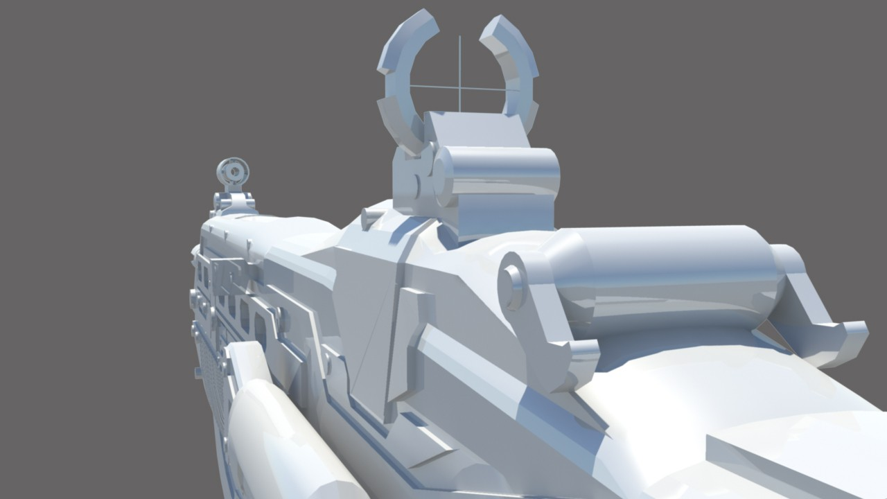 Gears of War 3 Lancer Model screenshot #4