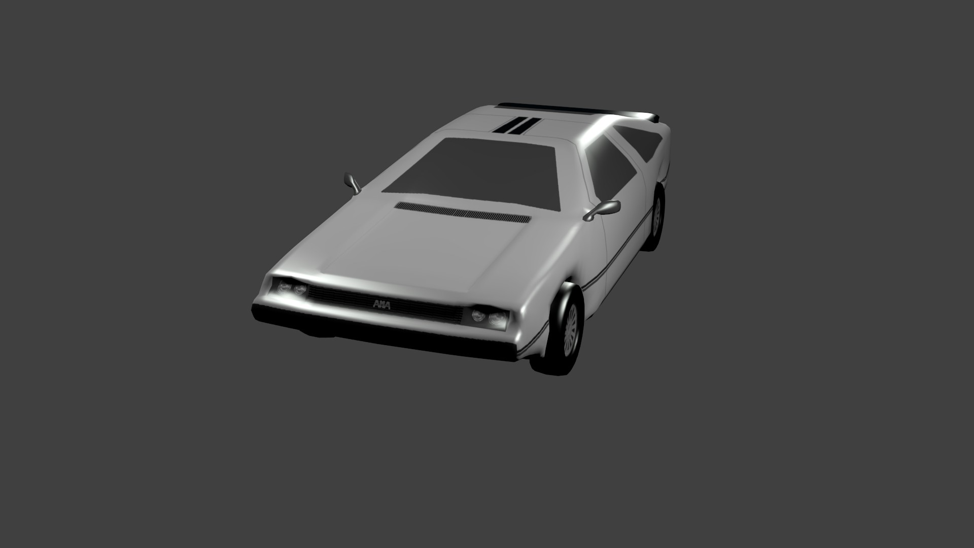 Delorean Model screenshot #1