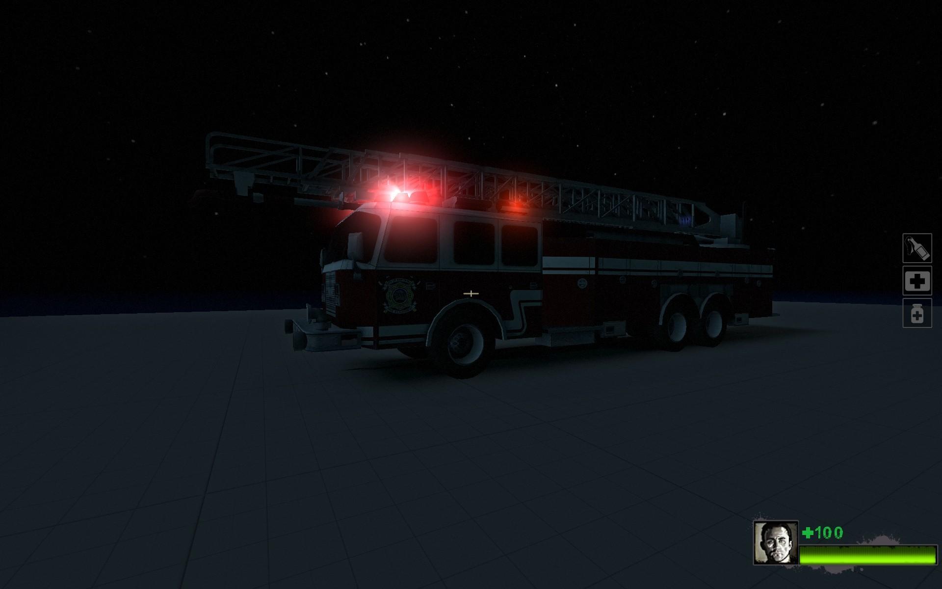 L4D2 Fire Engine Model screenshot #1