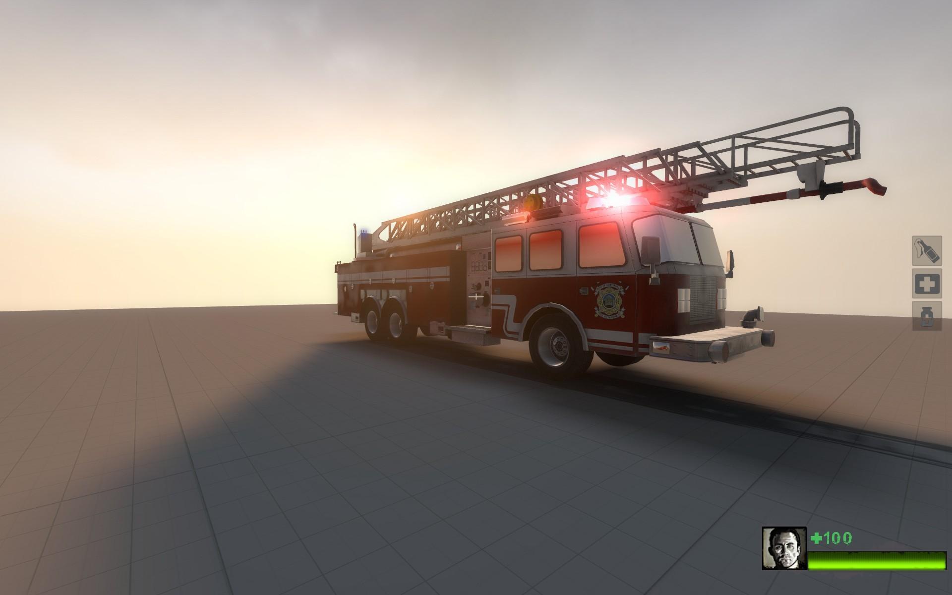 L4D2 Fire Engine Model screenshot #5