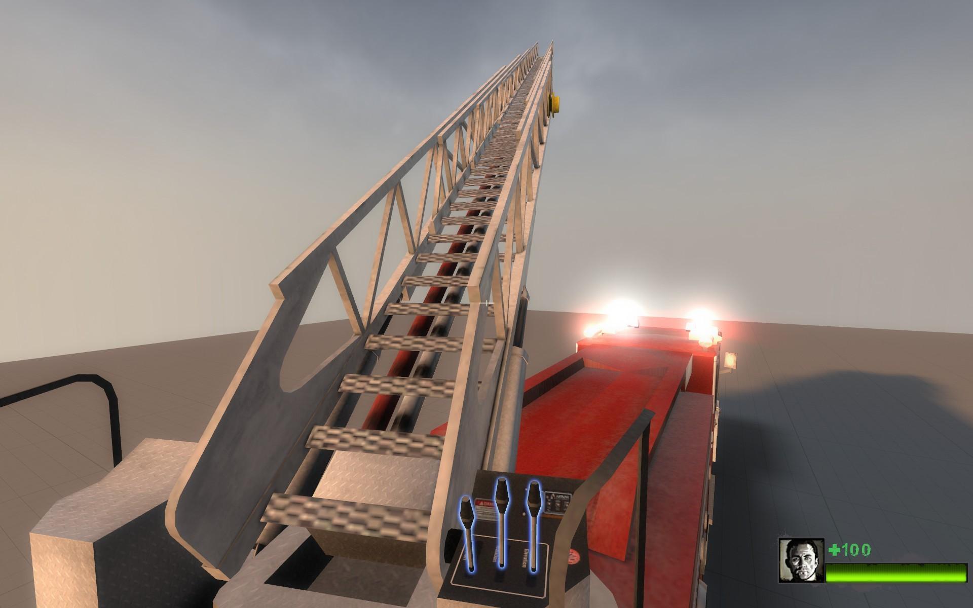 L4D2 Fire Engine Model screenshot #7