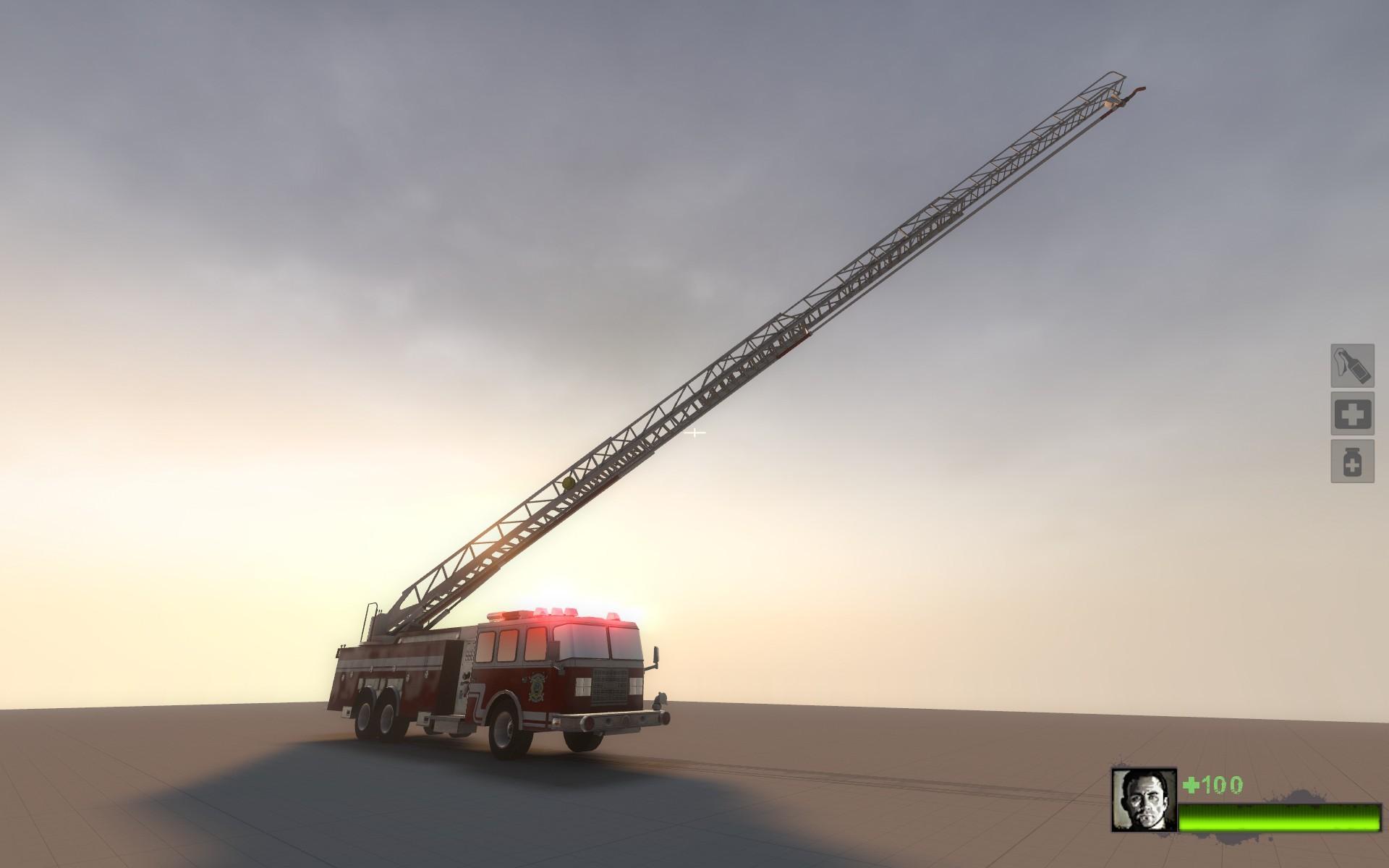 L4D2 Fire Engine Model screenshot #9