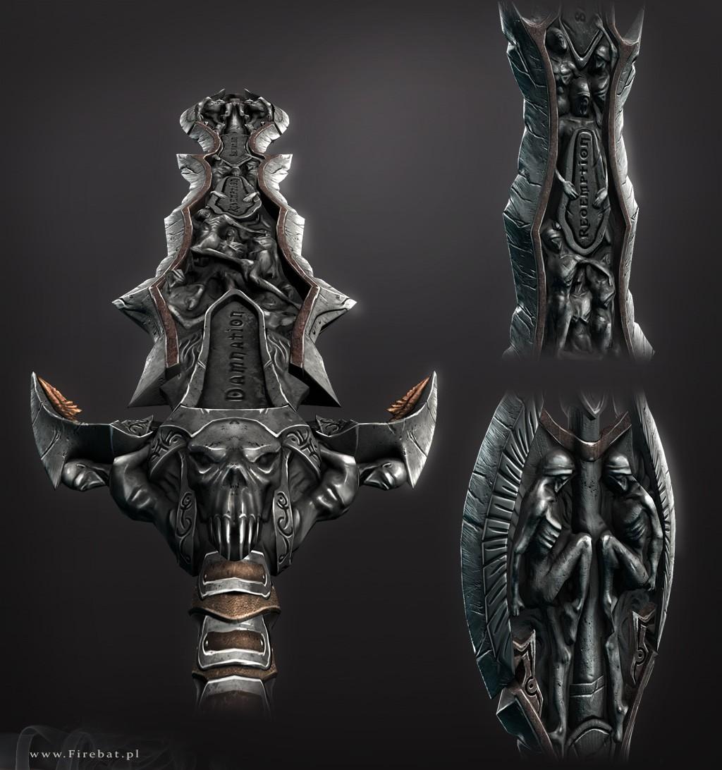 Hell Sword 3d Models