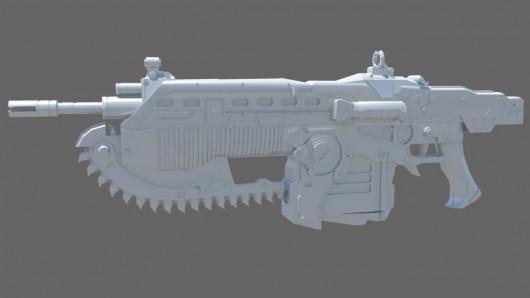 Gears of War 3 Lancer