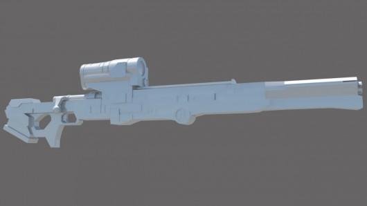 Longshot Sniper Rifle Model screenshot #1