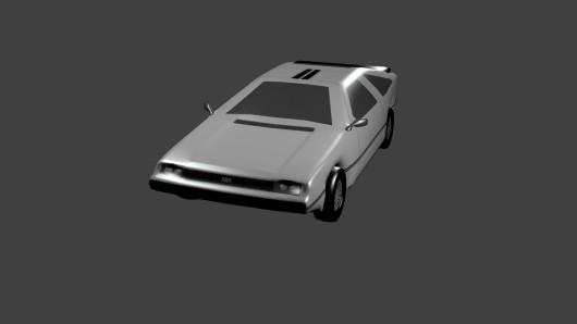 Delorean Model screenshot #1