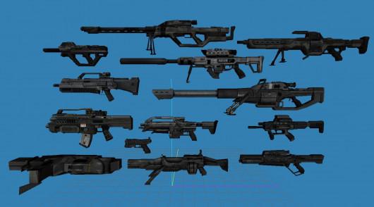 BattleField 2142 Guns