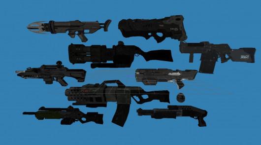 F.E.A.R. Guns