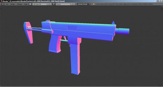Custom Machine Pistol (CMP)