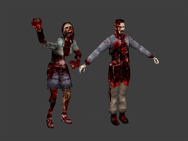 Zombie Models With Animations Source Engine Models