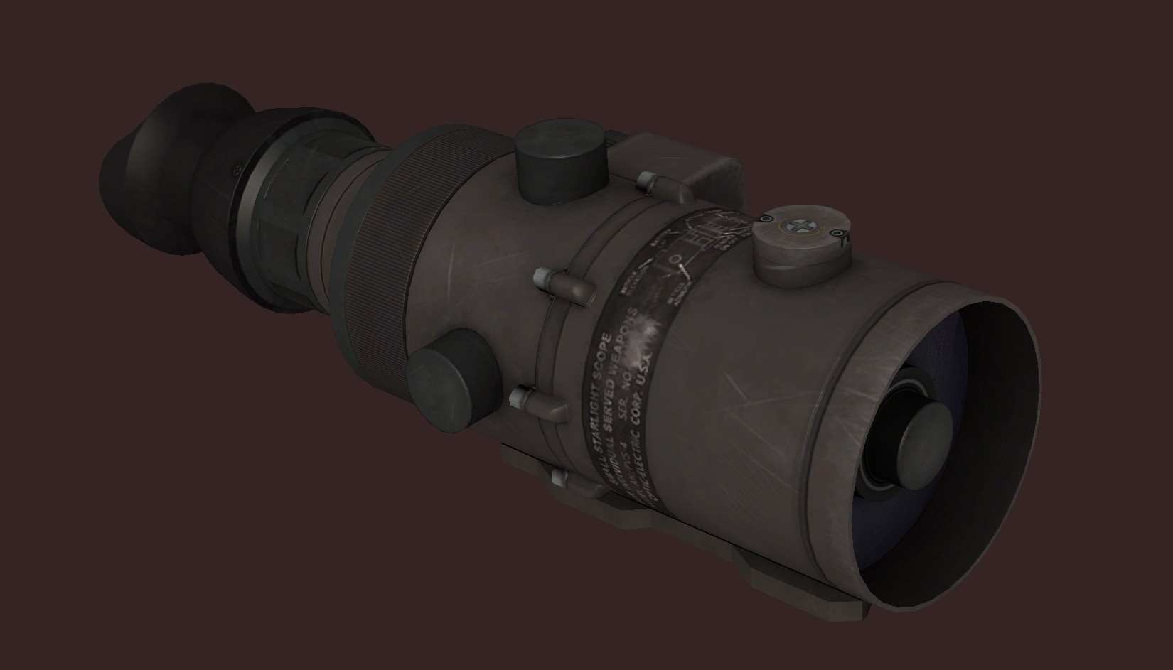 AN/PVS-4 Night Vision Scope ...