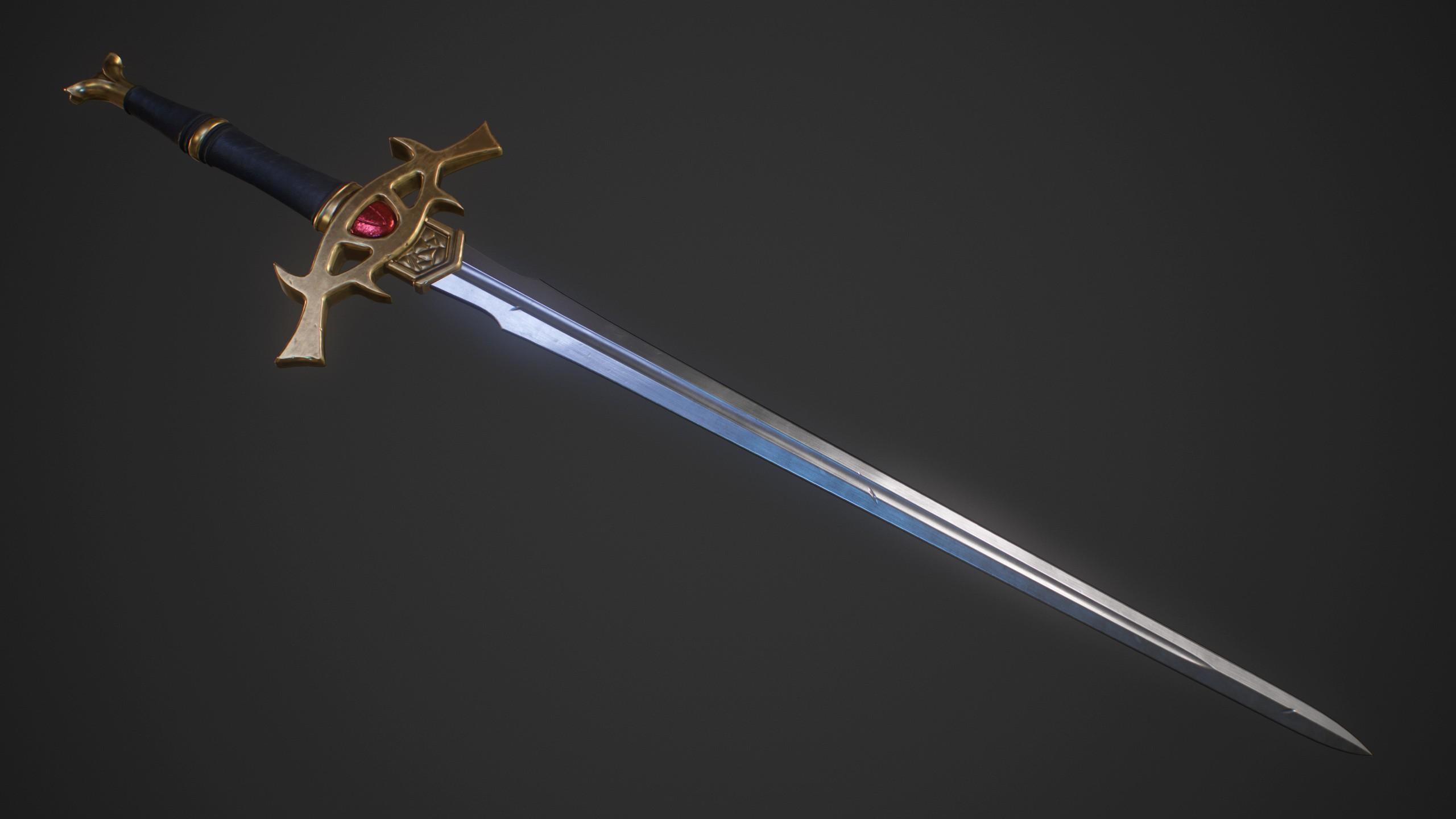 Sword Art Online 3D model galerie