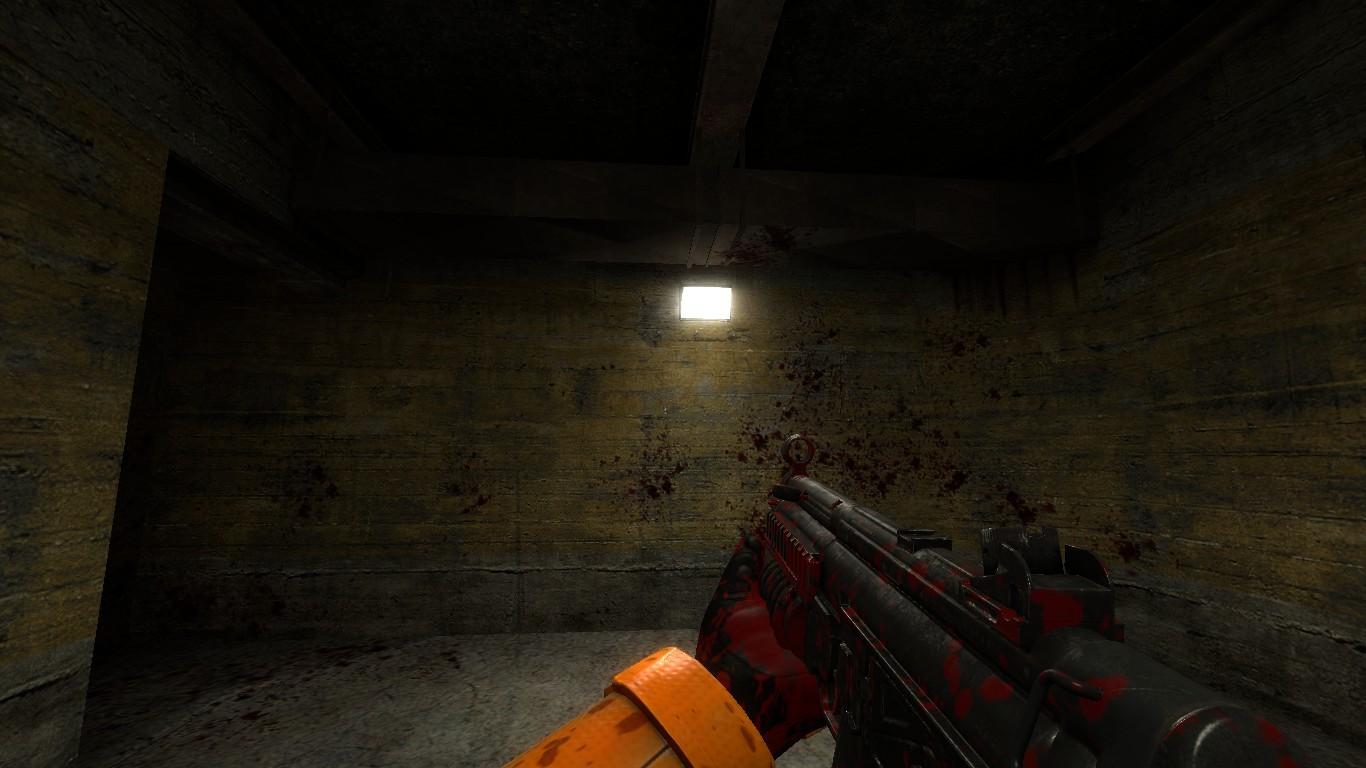 blood splattering Stock footage of blood splatter animation on white background with matte.