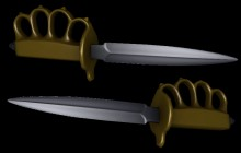 M1918 Trench Knife Model preview