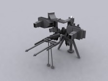 Turret Model preview