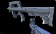 Zastaba CZN-M22 Section 9 Weap Model preview