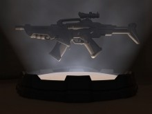 AR41 Concept Rifle Model preview