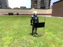 Riot Shield Model preview