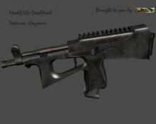 War-torn PP2000 Model preview