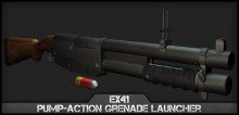 EX41 Pump-Action Nade Launcher preview