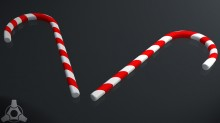 Candy Cane Model preview