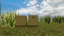 mgsbox & grass Model preview