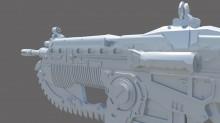 Gears of War 3 Lancer Model screenshot #3