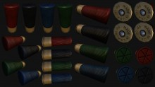Shotgun Shell Model preview