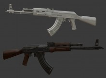 AK47 Model screenshot