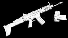FN SCAR L Model preview