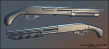 Sawed-off Remington 870 Model preview