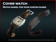 Remastered Cover watch model Model preview