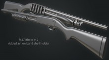 M37 Ithaca Model preview